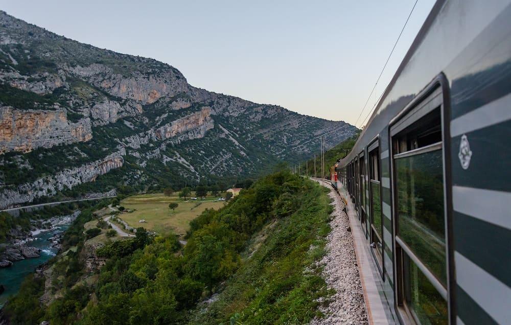 Поезд - Белград - Бар