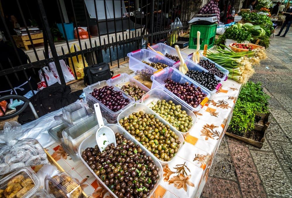 Городской рынок г. Бар, Черногория