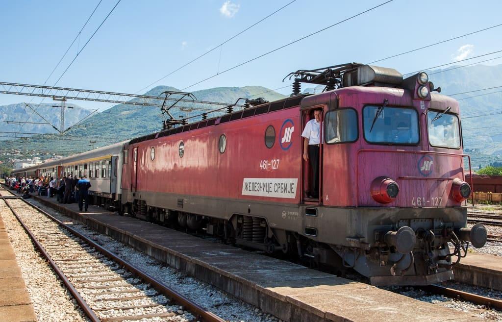 Поезд Белград – Бар