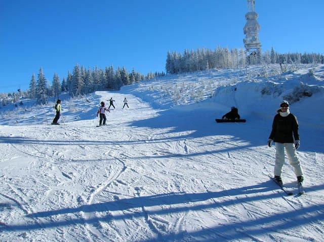Щирк горнолыжный Курорт