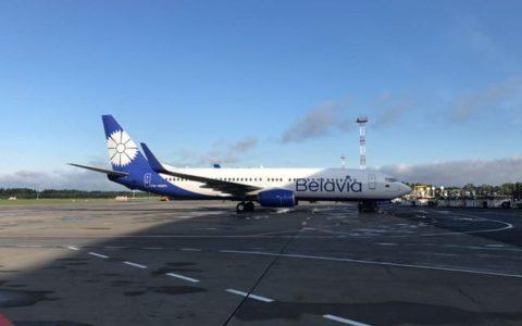 Самолет Белавиа