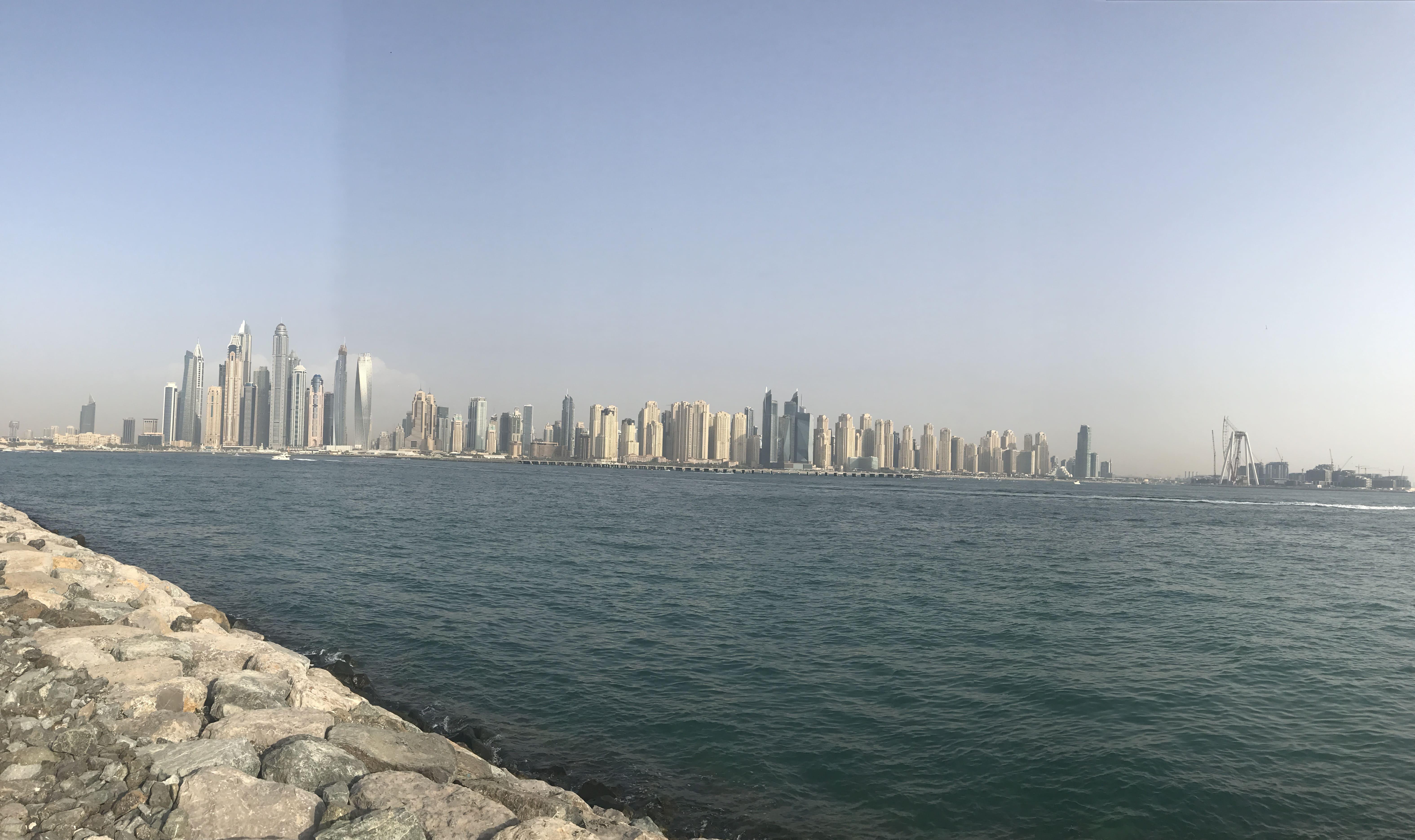 Набережная Дубай